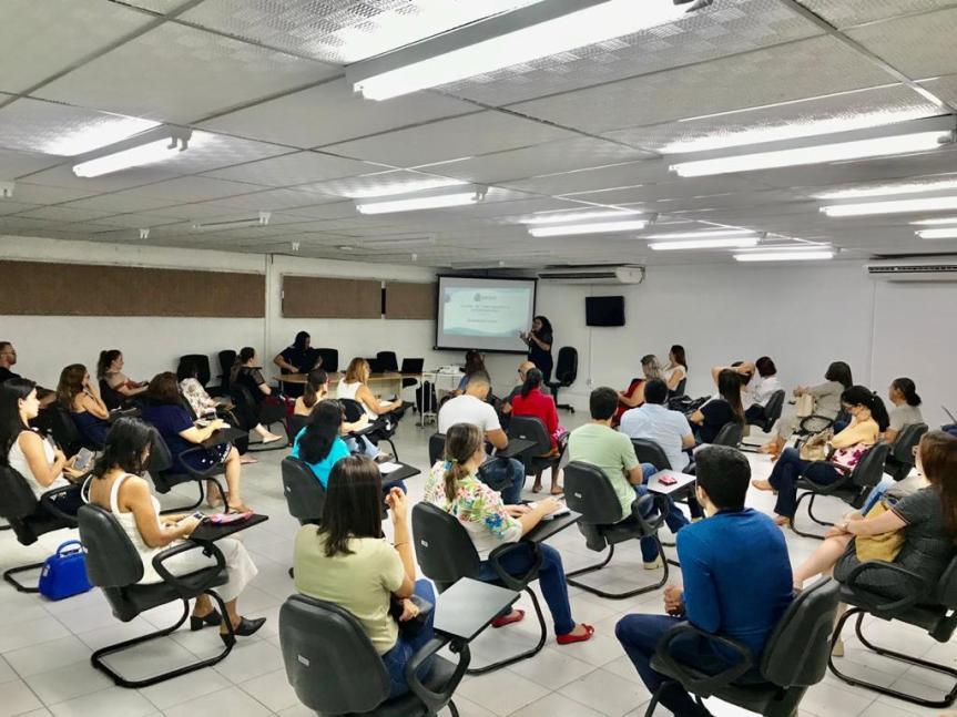 Prefeitura capacita profissionais da Saúde sobre o plano de contingência do novo coronavírus - Foto Ascom SMS